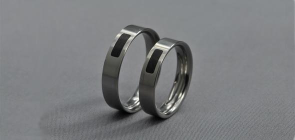 Zagi – Titán/Ébenfa – Karikagyűrű, jegygyűrű
