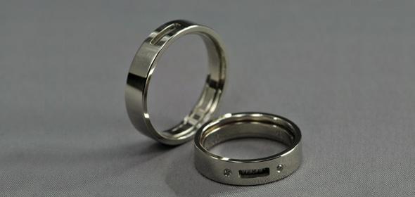 Ivan – Fehérarany – Jegygyűrű, karikagyűrű