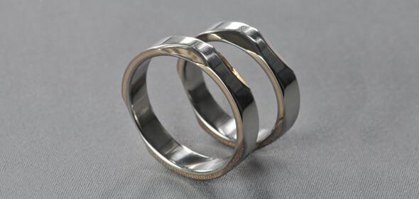 Gold Ax – Titán/Arany – jegygyűrű, karikagyűrű
