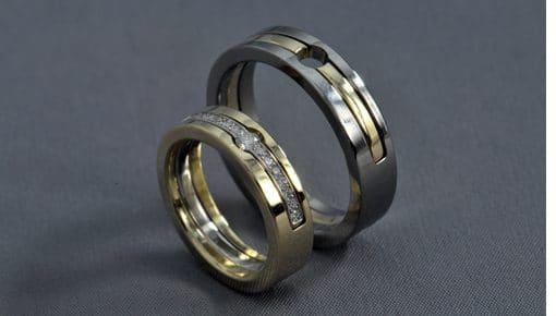 Gonsy – Fehérarany/Sárgaarany/Gyémánt – Jegygyűrű és Karikagyűrű